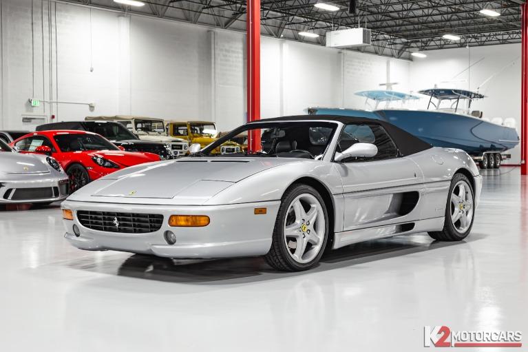 Used 1998 Ferrari F355 Spider For Sale Sold K2 Motorcars Stock 00054