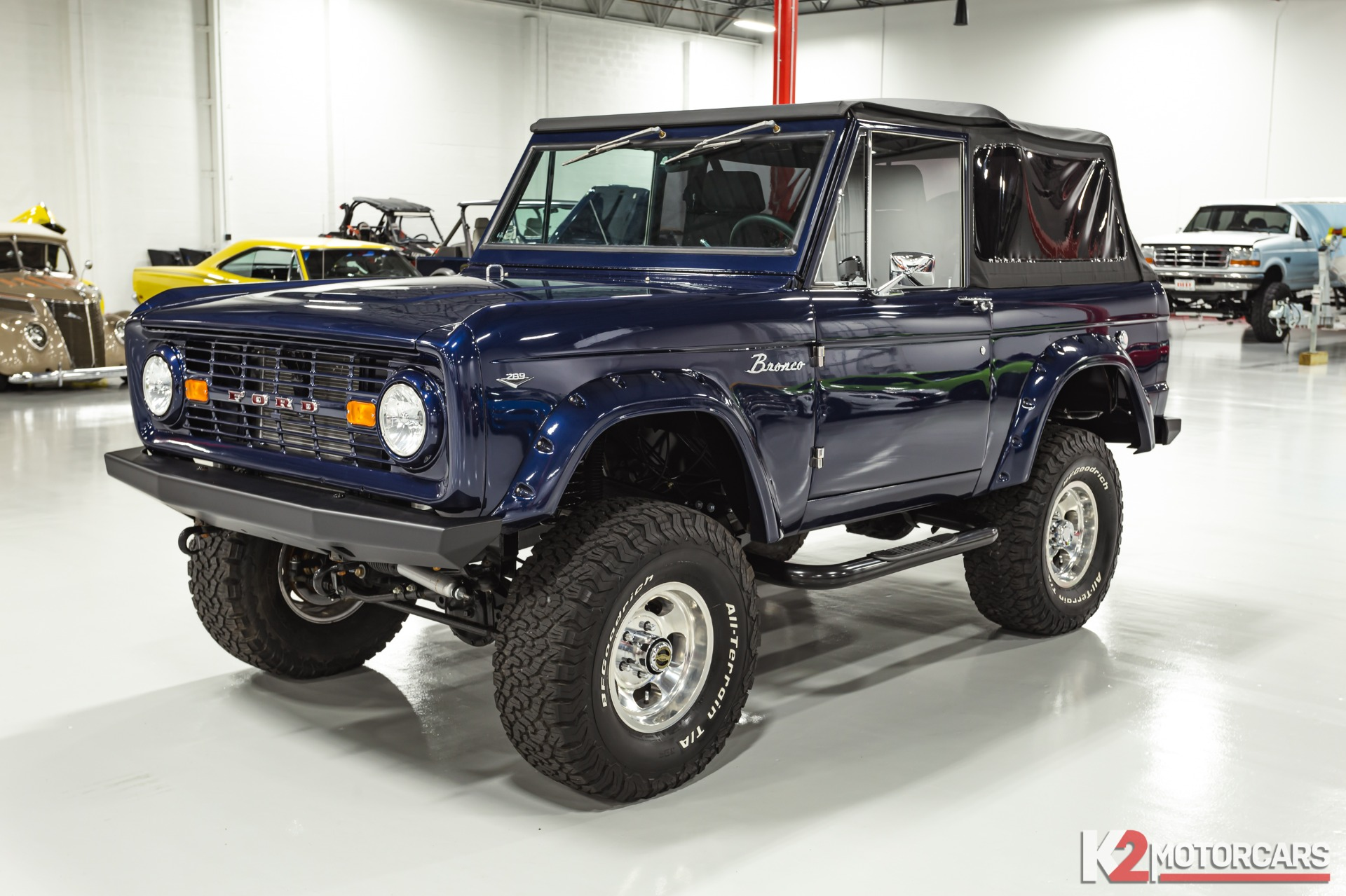 Used 1968 Ford Bronco Modified For Sale 75 000 K2 Motorcars Stock 00035